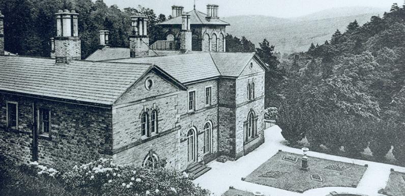 Errwood Hall auction sale