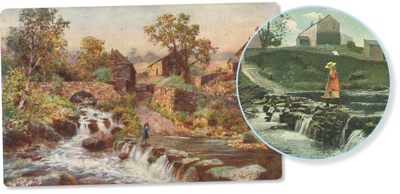 More Goyt Valley postcards