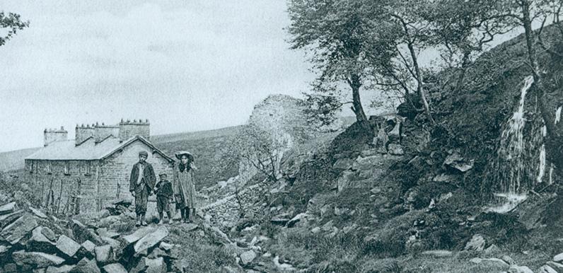 Goytsclough waterwheel (1857)