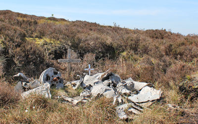 Air crash remains