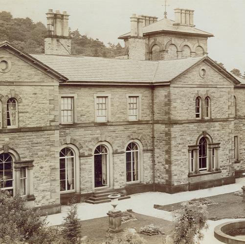 Errwood Hall & garden