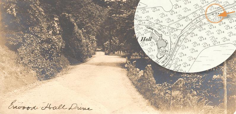 Errwood Hall drive