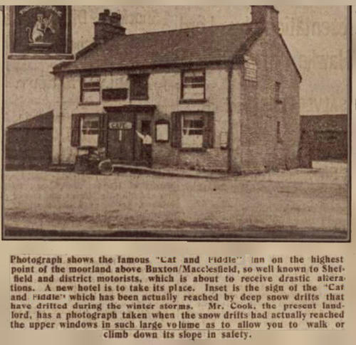 Cat & Fiddle press clipping