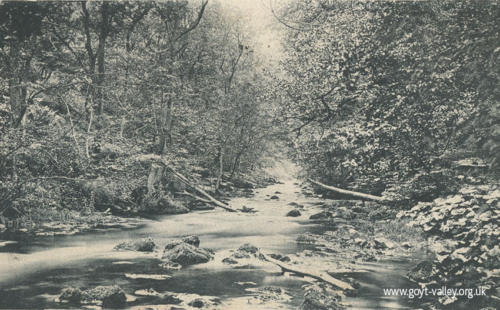 The Goyt at Taxal. c.1900