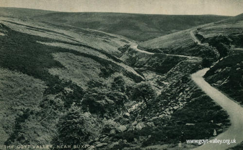 Road to Derbyshire Bridge c.1915