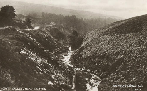 River Goyt at Gotsclough c.1915