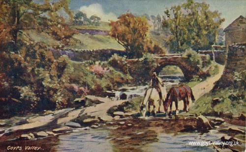 Goyt's Bridge. c.1915