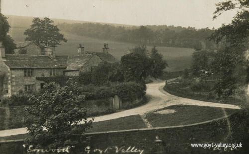 Errwood Cottage. c.1915