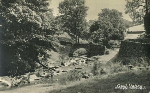 The packhorse bridge. c.1910