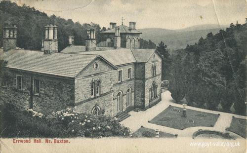 Errwood Hall. c.1915