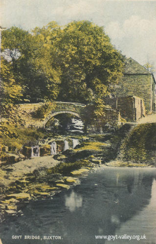The packhorse bridge. c.1915