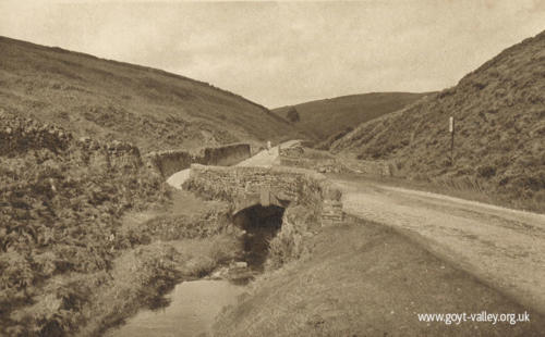 Derbyshire Bridge. c.1920