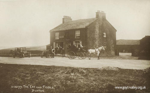 The Cat & Fiddle Inn. c.1910