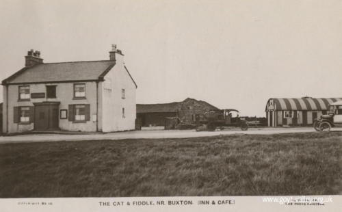 The Cat & Fiddle Inn. c.1920
