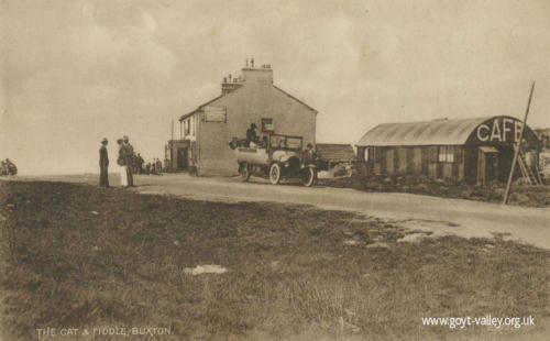 The Cat & Fiddle Inn. c.1925