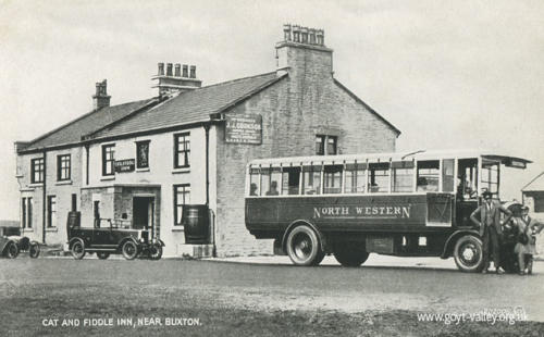 The Cat & Fiddle Inn. c.1945