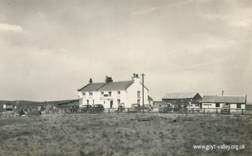 The Cat & Fiddle Inn. c.1955