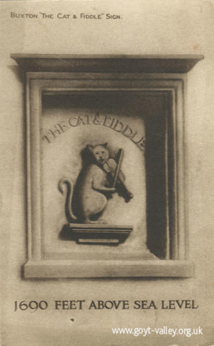 Cat & Fiddle sign. c.1910