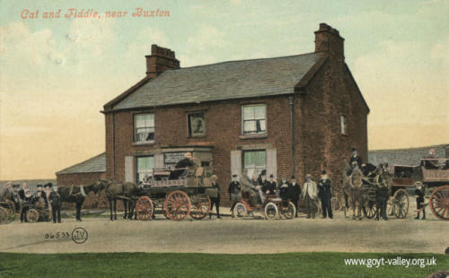 The Cat & Fiddle Inn. c.1905