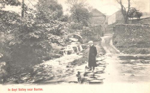 Goyt's Bridge. c.1910.