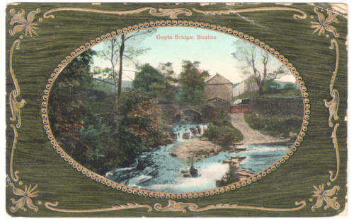 Goyt's Bridge. c.1915.