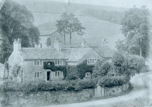 Errwood Cottage. c.1920.