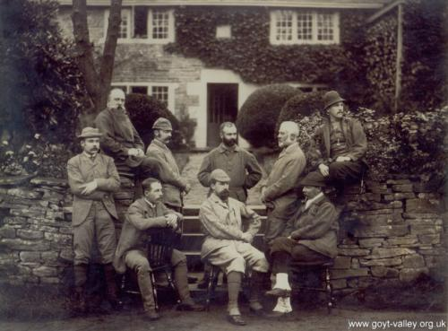 Grimshawe hunting party 1883