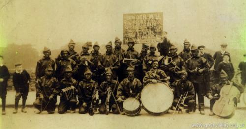 Gunpowder mill band. c.1900.