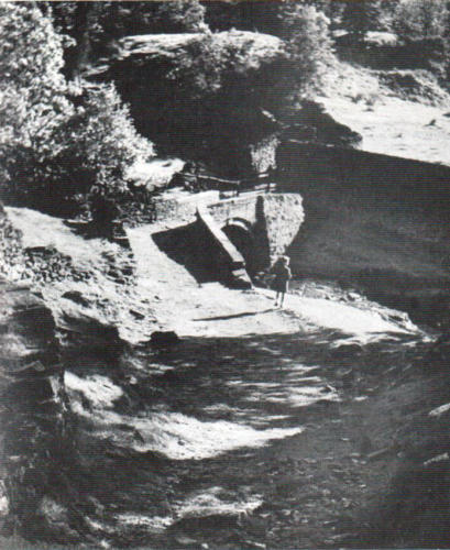 The Packhorse Bridge. 1950.