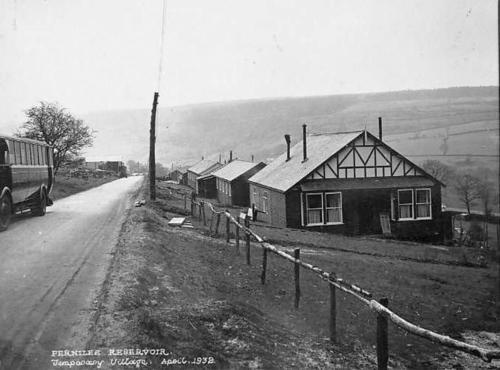 Temporary village April 1932