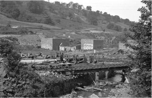 Railway ruins