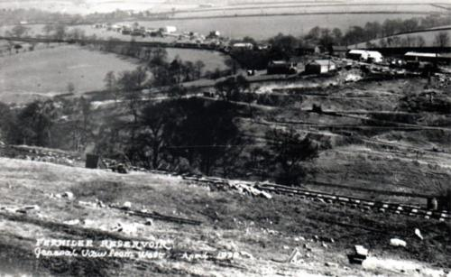 View from the west April 1932