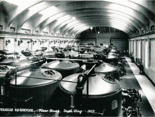 Filter house, west wing 1937